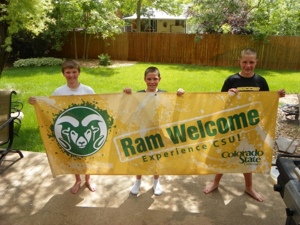 CSU Ram Welcome Horizontal
