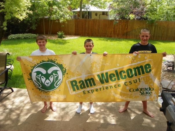 CSU Ram Welcome Horizontal