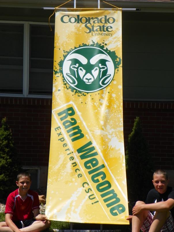 CSU Ram Welcome